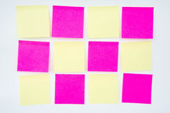 Post it note, short note, Note Take Note. In a reminder A major Stock Image
