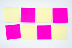 Post it note, short note, Note Take Note. In a reminder A major Stock Photography