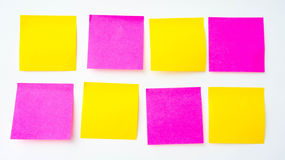 Post it note, short note, Note Take Note. In a reminder A major Stock Images
