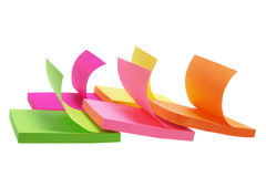 Post-it Notepads Stock Photography
