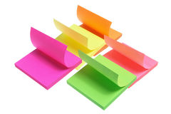 Post-it Notepads Stock Images
