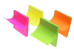 Post-it Notepads Royalty Free Stock Photography