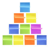 Post-it Notepads Royalty Free Stock Photo