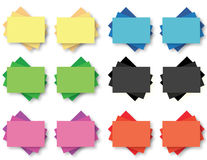 Post it notes Stock Photo