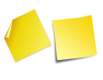 Post it notes Stock Image