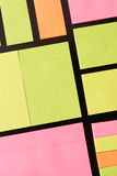 Post-it notes Royalty Free Stock Photos