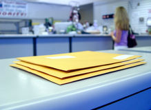 At the Post office Stock Photos