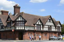 The Post Office in Arundel. Sussex. England Royalty Free Stock Photo