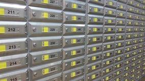 Post office box Stock Photo