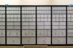 Post Office Boxes Stock Photography