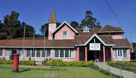 Post office building in the city of Nuwara Eliya Royalty Free Stock Photography