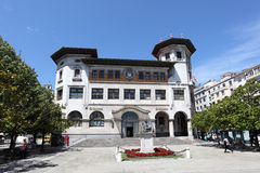 Post Office Building in Santander, Spain Royalty Free Stock Photos