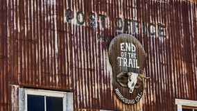 Post office in the Ghost Town Gold Diggers royalty free stock image