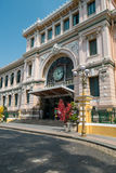 Post Office in Ho Chi Minh City, Vietnam Stock Photos