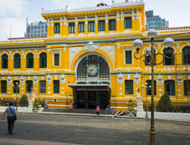 Post Office, Ho Chi Minh City, Vietnam Stock Image