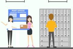 Post office interior. Stock Image