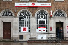 Post office in London stock photos