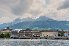 The Post Office of Lucerne, Switzerland Stock Photo