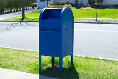 Post office mail box Stock Images
