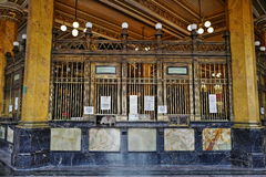 Post office in Mexico City, Mexico. The Palacio de Correos de Mexico Postal Palace of Mexico City also known as the `Correo Mayor` Main Post Office is located in Royalty Free Stock Image