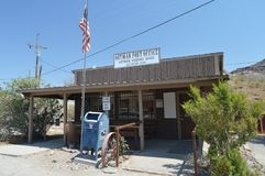Post Office in Oatman on Route 66 royalty free stock images