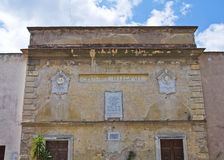 Post office palace. Amelia. Umbria. Italy. Stock Images