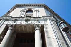 Post Office Palace. Ferrara. Emilia-Romagna. Italy Stock Photography