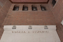 Post Office Palace. Ferrara. Royalty Free Stock Image