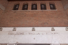 Post Office Palace. Ferrara. Royalty Free Stock Photo