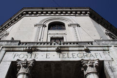 Post Office Palace. Ferrara Royalty Free Stock Images