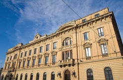 Post office palace. Lecce. Puglia. Italy. Royalty Free Stock Photo