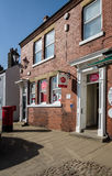 Post Office - Post Box - Rural Post Office - UK Stock Photography