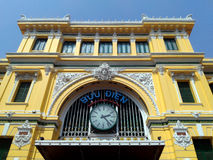 Post Office, Saigon, Ho Chi Minh City, Vietnam Royalty Free Stock Photography
