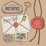 Post office Stock Photos