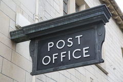 Post Office Sign Royalty Free Stock Photography