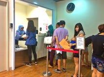 Post office - Singapore stock photo