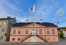Post Office of Stavanger, Norway Royalty Free Stock Images