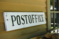 Post Office Royalty Free Stock Photo