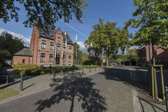 Post in Oud Turnhout Royalty-vrije Stock Afbeeldingen