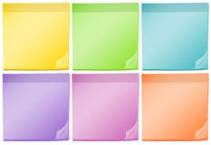 Post-it pads Stock Image