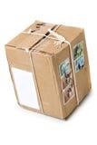 Post pakket stock afbeeldingen