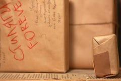 Post pakketten Royalty-vrije Stock Fotografie