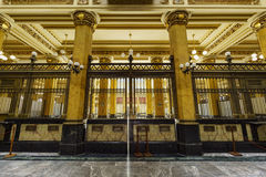 Post- Palacio Arkivbild