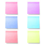 Post it paper note Stock Photo