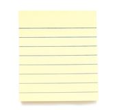 Post it papers isolated over background Royalty Free Stock Photo