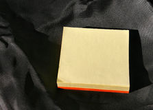 Post-it pile Stock Image