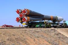 postępu rosjanina statek kosmiczny Obraz Royalty Free