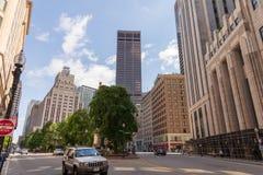 Post-Quadrat in Boston Massachusetts, Vereinigte Staaten stockfotografie