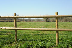 Post and rail Fence Stock Images