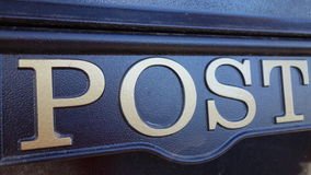 Post Sign Royalty Free Stock Images